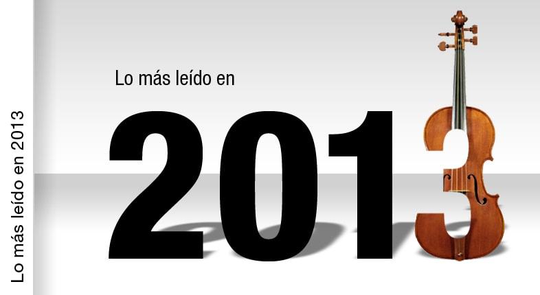 Los artículos más leídos de 2013