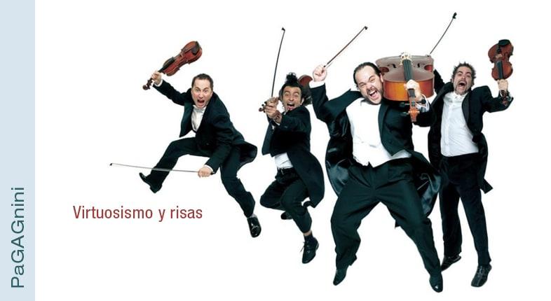 PAgagNINI: violín y risas