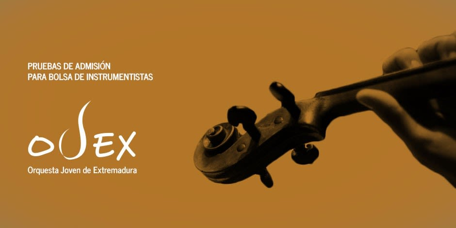 La Joven Orquesta de Extremadura selecciona 15 plazas de violín