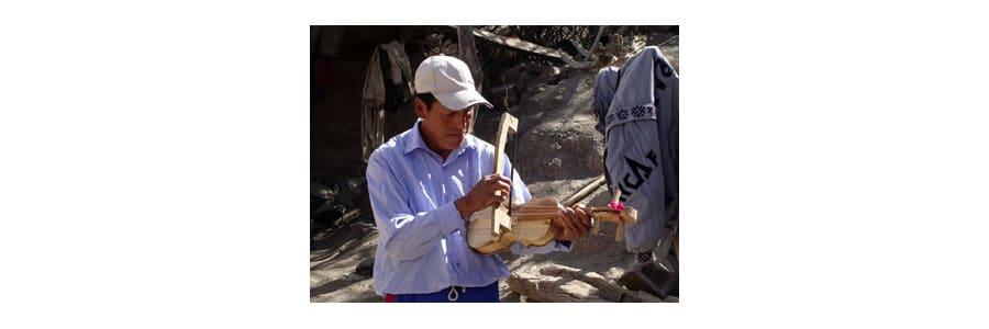 Violín tradicional de América Latina