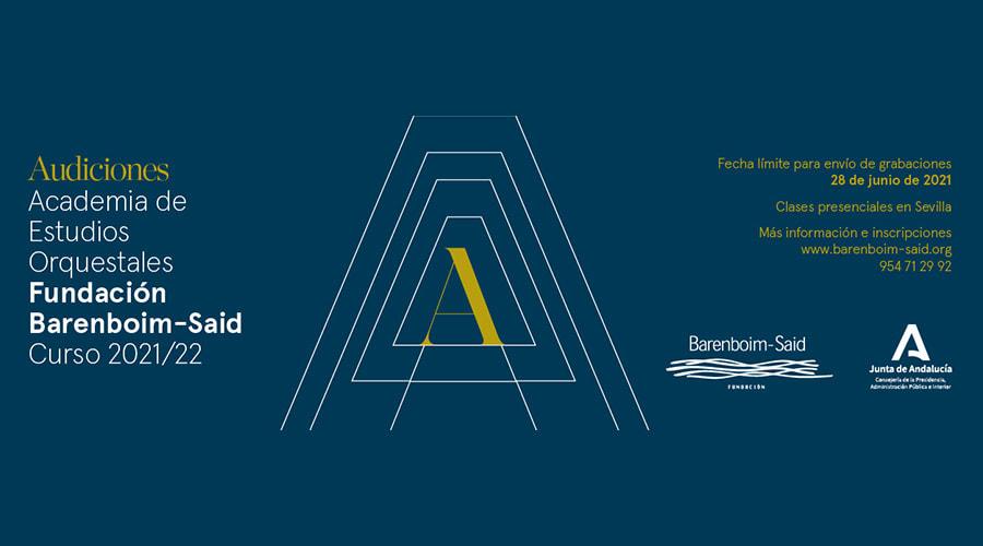 La Fundación Barenboim-Said convoca audiciones para su Academia de Estudios Orquestales