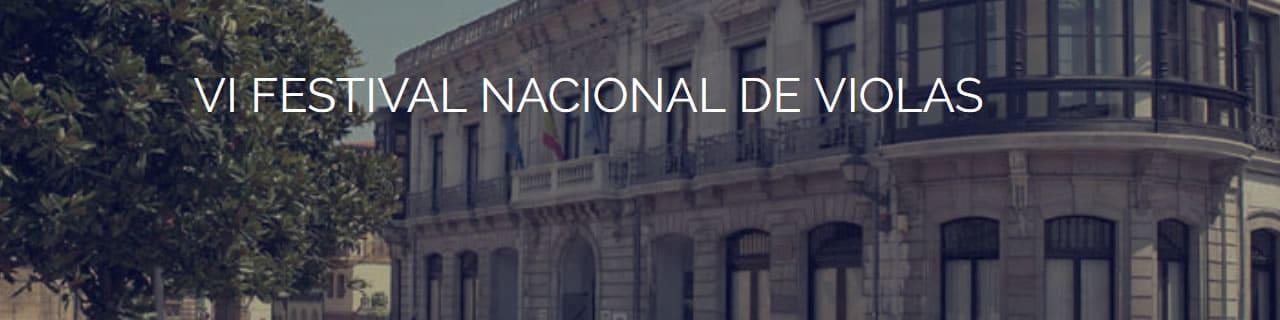 La Asociación Española de Amigos de la Viola pide propuestas para su VI Festival