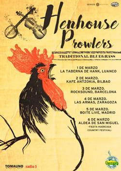 Henhouse prowlers actuaciones en España