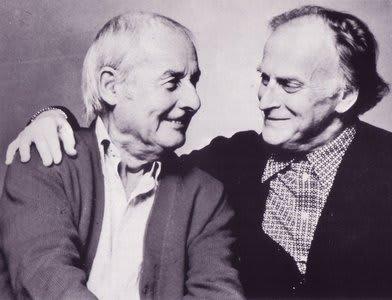 Yehudi Menuhin and Stephan Grappelli