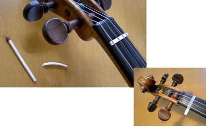 cejillas para violín