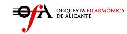 La orquesta Filarmónica de Alicante convoca audiciones