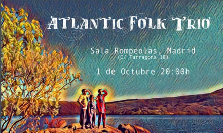 Concierto de Atlantic Folk Trío en Madrid