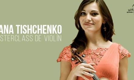 Masterclass de violín por Diana Tischenko en Solé Luthiers