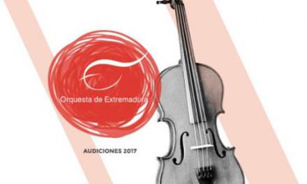 Audiciones para viola tutti en la Orquesta de Extremadura