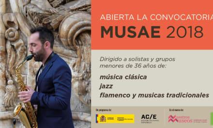 Convocatoria para el programa MusaE, un circuito de conciertos y micro-conciertos en museos.