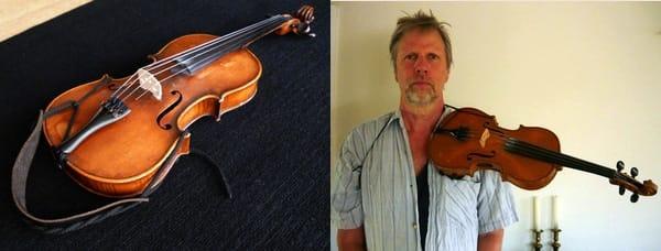 Sujección para violín
