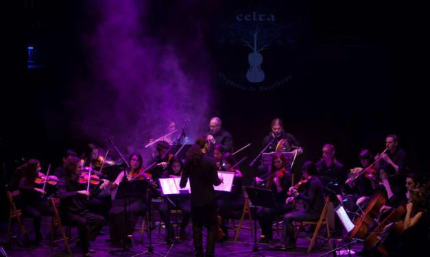 La Orquesta Celta de Barcelona, en el día de San Patricio