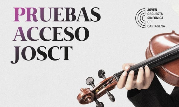 Pruebas de acceso a la Joven Orquesta Sinfónica de Cartagena