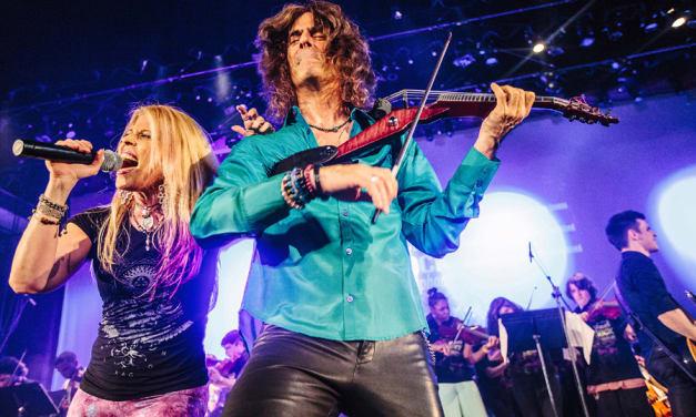 Tocando Rock en el violín