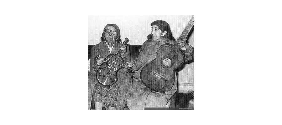 Violines tradicionales de Latinoamérica