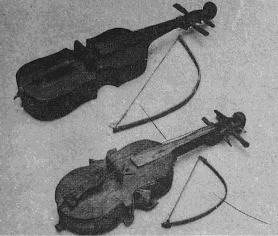 violines tradicionales de América Latina
