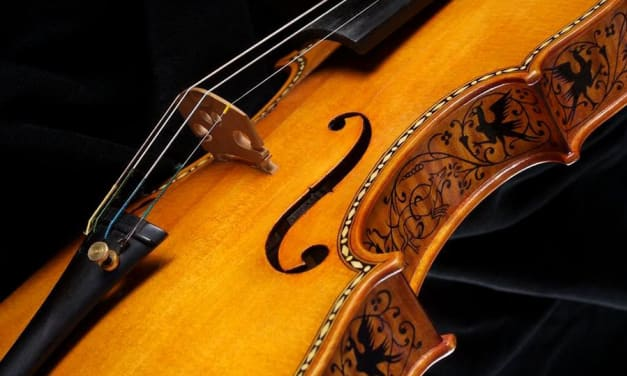 Violín copia Stradivarius