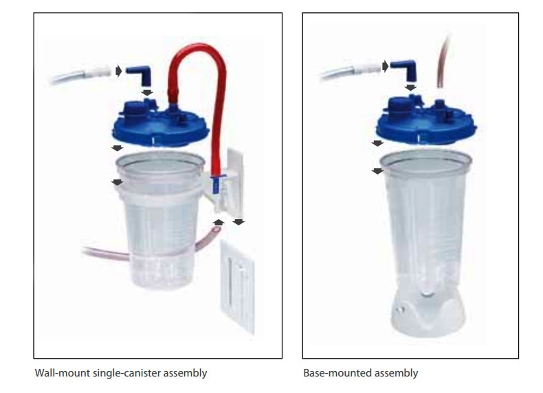 ae325f557884 Cardinal Health #65651-220 - Canister Suction Medi-Vac Guardian ...
