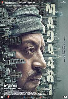 Madaari poster