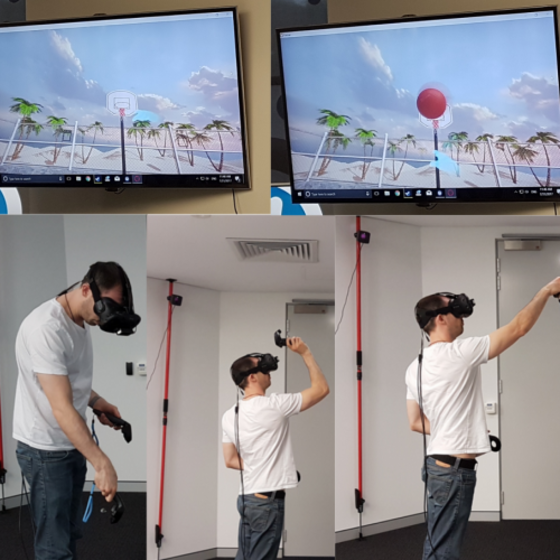 Figure 2: Virtual reality example