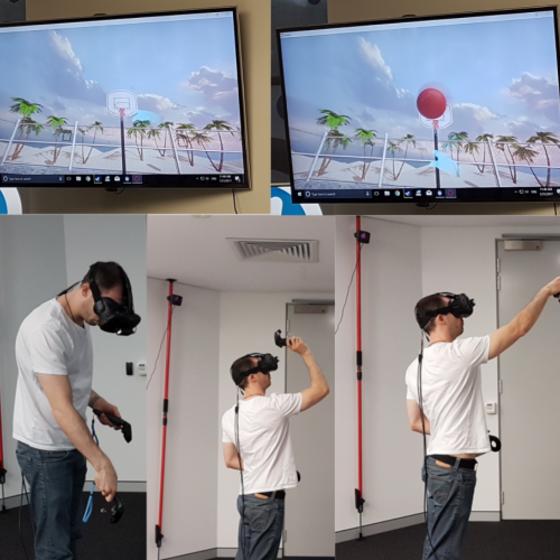 Figure 2: Virtual reality example