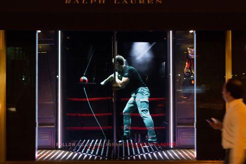 Holographic Window for Ralph Lauren