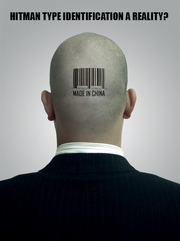 'Hitman'-style barcode