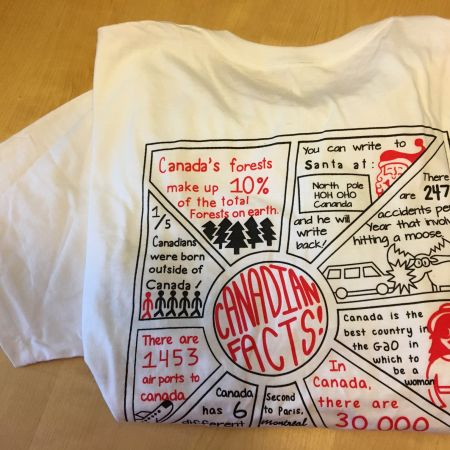 Canadian Facts Tee