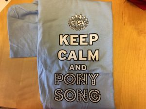 Pony Song Tee Light Blue
