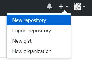 github創建一個repository