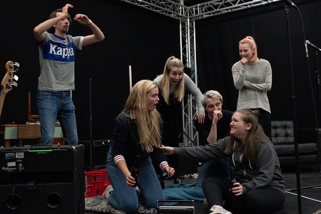 Care experienced theatre ensemble
