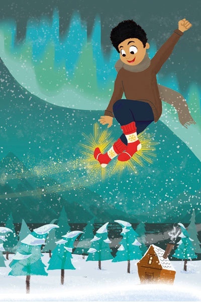 Simon's Magical Christmas Socks