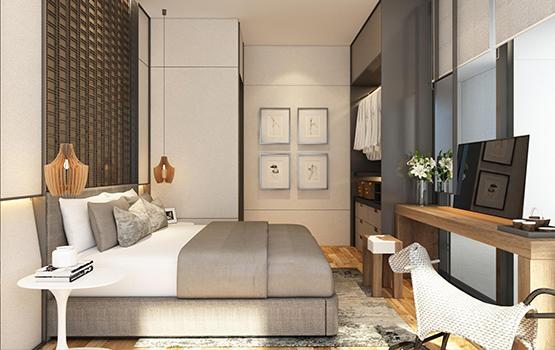 Studio Unit Bed