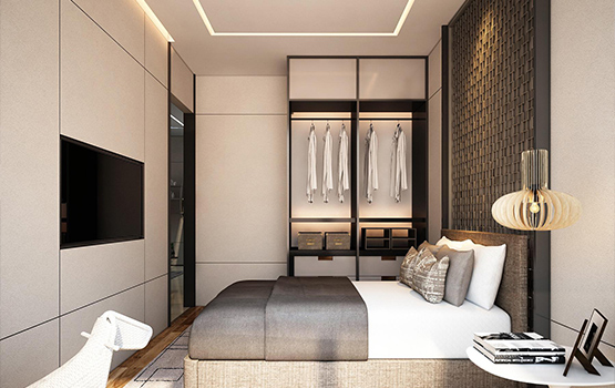 Studio Unit 2 Bed