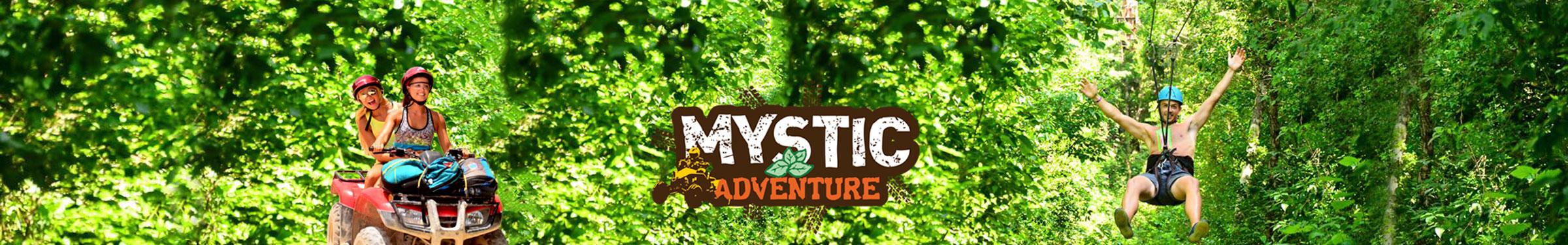 Mystic adventure tulum banner