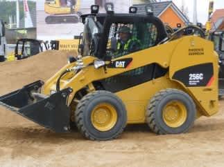 A CAT Skid steer loader