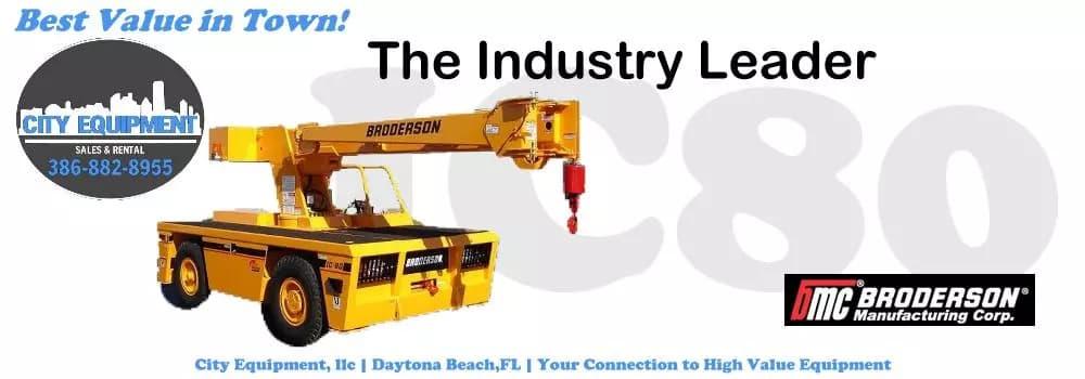 City Equipment Daytona Beach Broderson Carry Deck Crane Specialist And Commercial Vehicle Dealer Slide Image 01