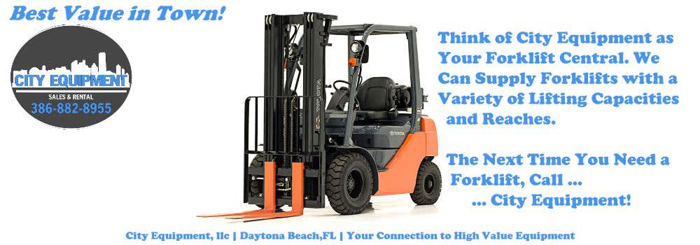 Daytona Beach Heavy Equipment and Heavy Machines Your Connection to City Equipment - Your Forklift Central