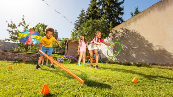 Backyard Games to Play with Your Kids
