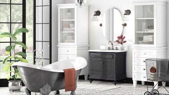 21 Modern Farmhouse Style Bathrooms