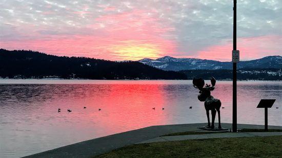 Visiting Coeur d'ALene, Idaho