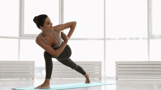 How to Do Revolved Crescent Lunge