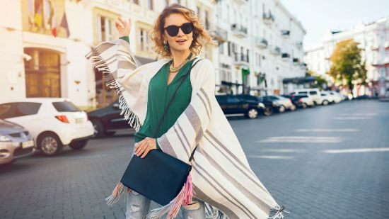 The Poncho Scarf is Your New Travel BFF