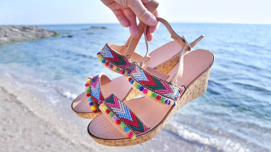 Summer Shoes with Eye-Catching Patterns