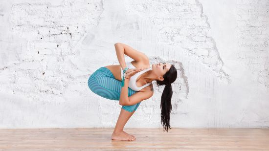 How to Do a Prayer Twist in Yoga
