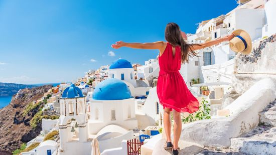 Outfits to Create a Greek Vacay at Home