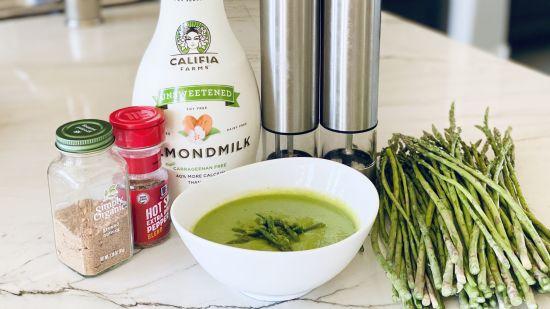 The Easiest Ever Vegan Asparagus Soup
