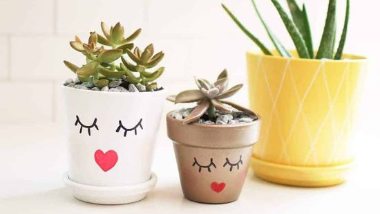 How to Make a Cute Summery Planter Pot