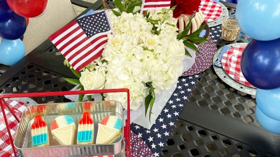 4th of July Backyard Patio Inspiration