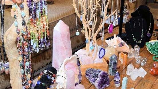 Jewelry from Healing Stones + Crystals